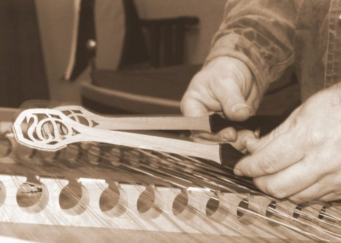 8.  You can't help but tap along to fiddle or dulcimer music.