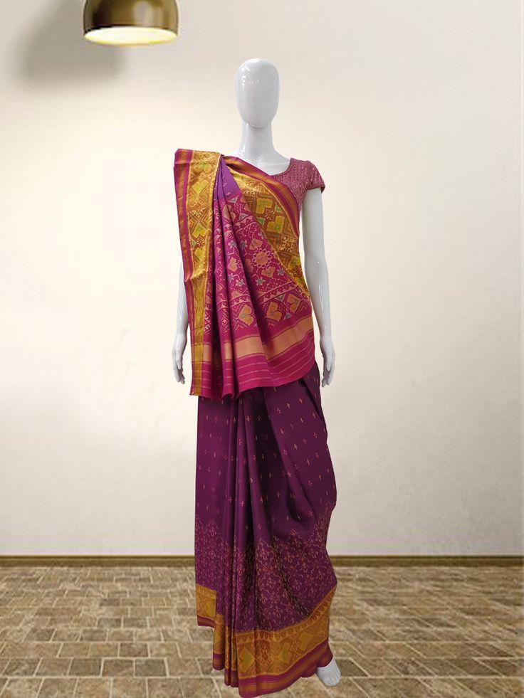 Rajkoti Patola Saree  #sankalpthebandhejshoppe #patola #rajkotipatola #designersaree #patolasaree #bandhanisaree #bandhej #tie&dye #bandhani #bandhejsaree