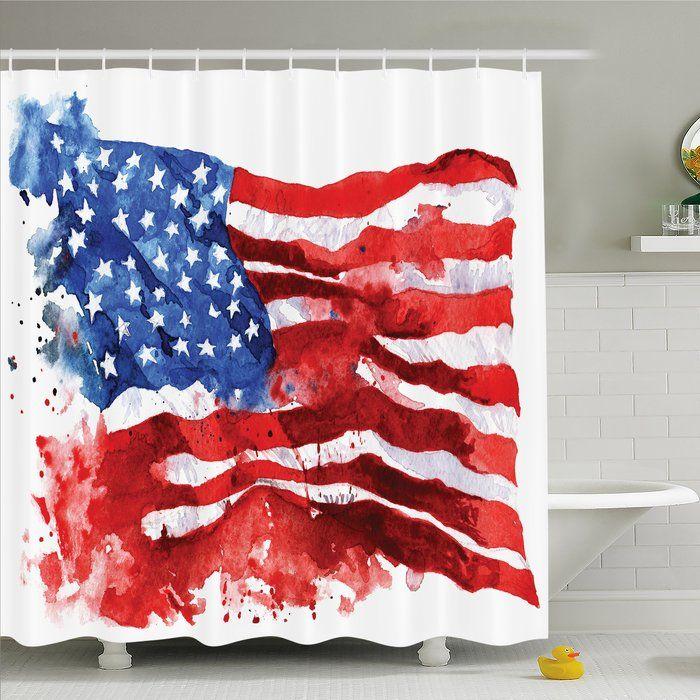 Paintbrush American Flag Men/'s Tee Image by Shutterstock