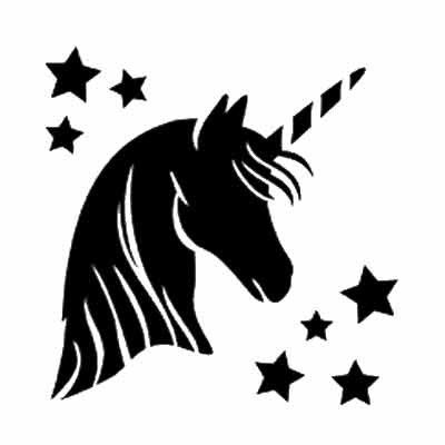 unicorn stencil - Google Search