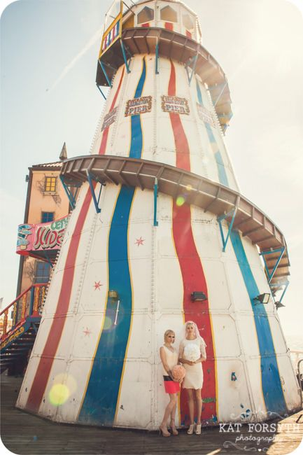 Brighton Mod Wedding Brighton pier