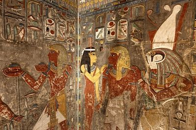 Haremhebova hrobka byla teprve nedávno znovuotevřena veřejnosti.