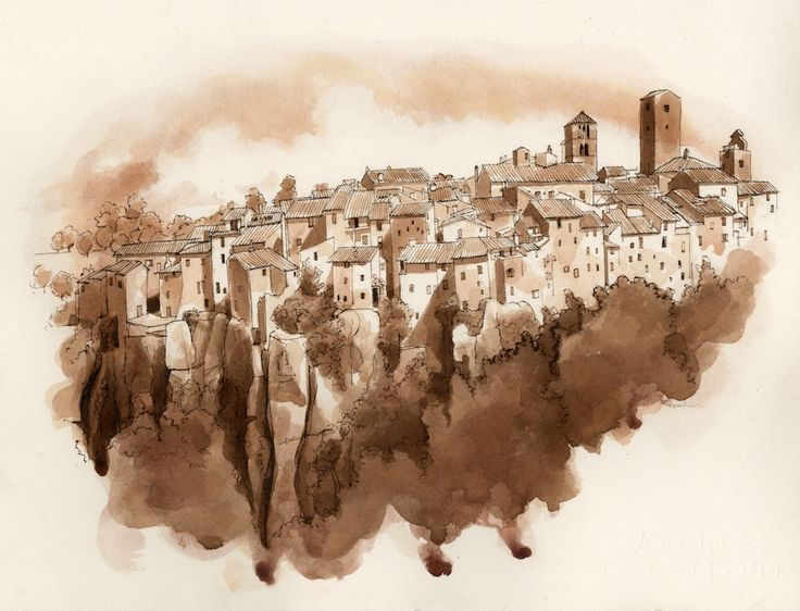 The Medieval Town of Vitorchiano Viterbo, Italy FredLynch.com