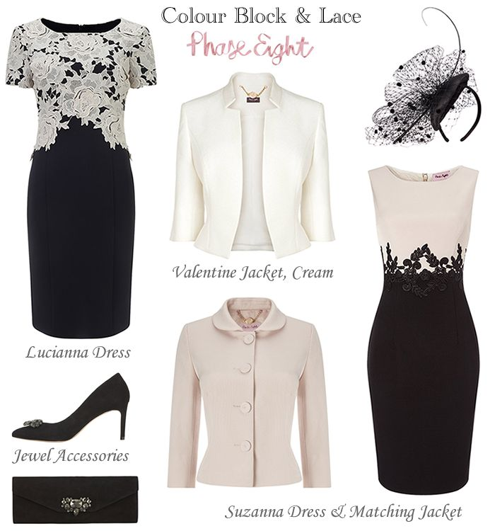 Phase Eight Black Cream Winter Mother Of The Bride Outfits Klere Pinterest Dresses And Wedding