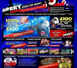 New casino you'll fall in love: Harry Casino!