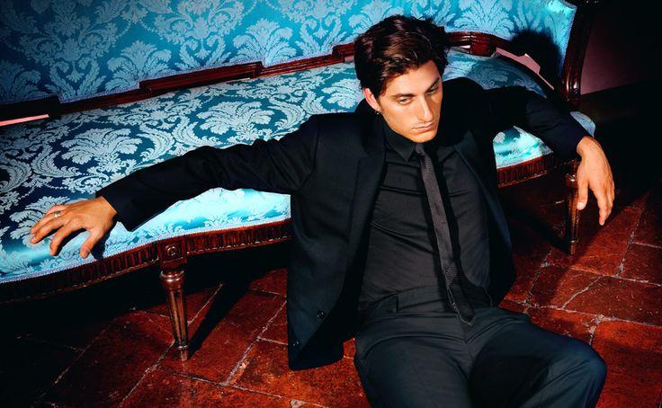 Luca Marinelli in Dolce & Gabbana