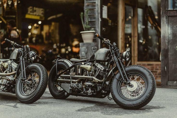 shovelhead Harley fromhttp://bobberinspiration.com