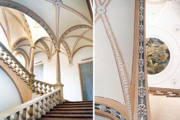 Restauro scalone Palazzo Anguissola  #noveri #piacenza #resaturo #scalone #art #palazzoanguissola
