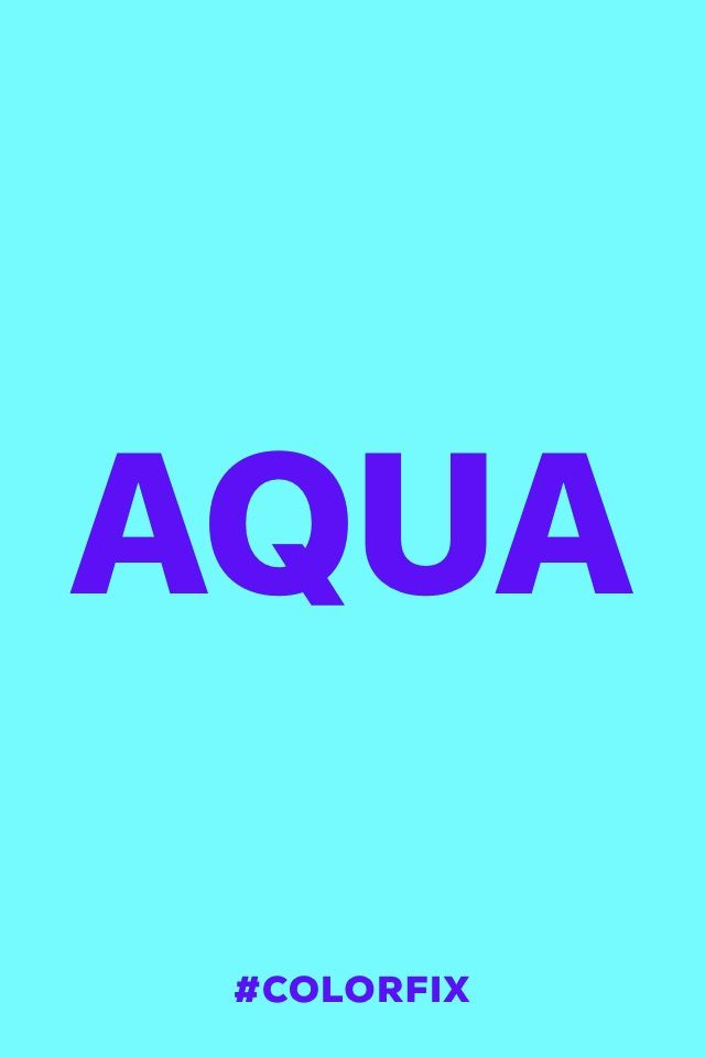 Aqua.  #madewithover