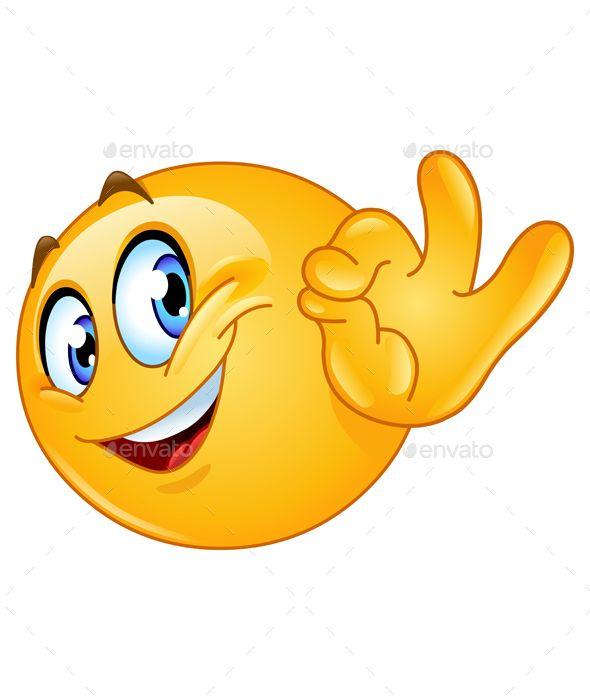 Ok Sign Emoji In 2020 Funny Emoticons Smiley Emoji Emoji Images