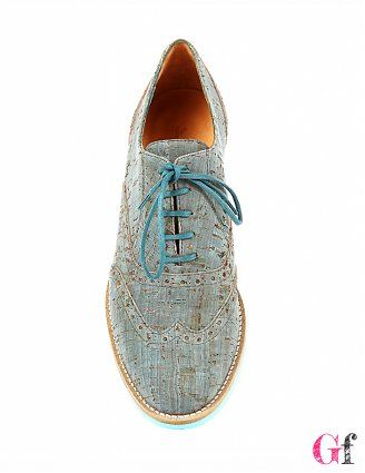 Sapatos Oxford Azuis #Rutz #Goodfashion