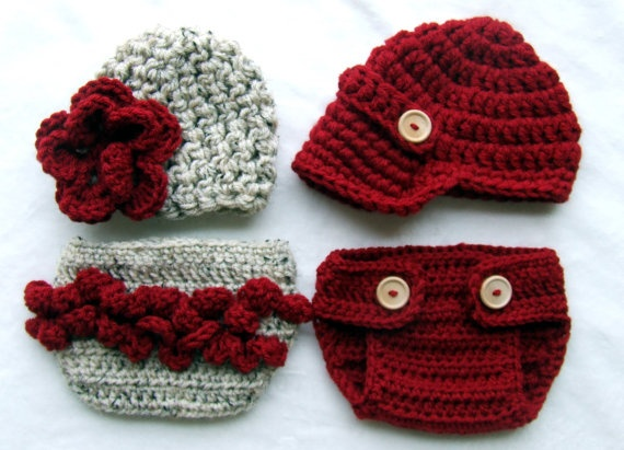 If only I could go back in time and have my twins newborn pictures taken in these! :)