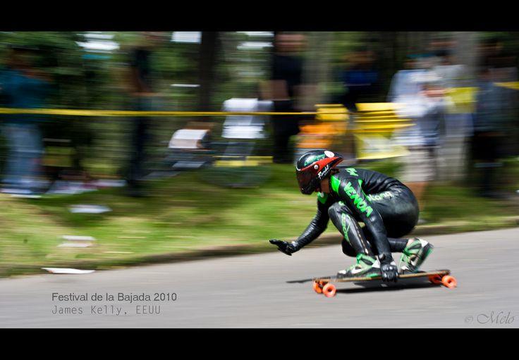 James Kelly, Longboarder