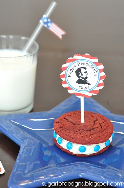 Presidents Day Printable fun party idea!