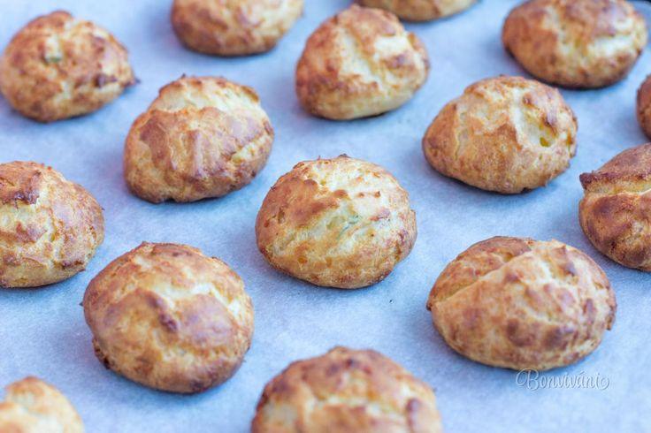 Gougères • recept • bonvivani.sk