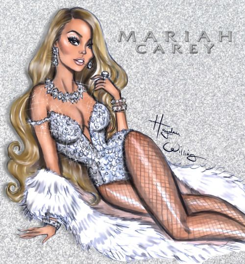 Everything is always so glam & festive in Mariah's World 💎