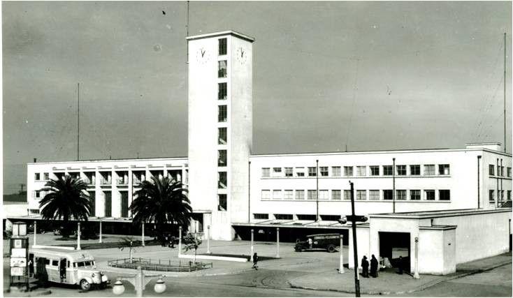 Estación de Ferrocarriles de Concepción Arquitecto Luis Herreros 1942