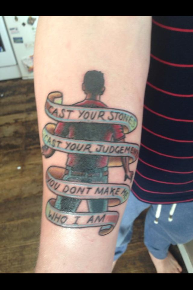 A day to remember tattoo . I want this.   Tattoos ... A Day To Remember Album Cover Tattoo