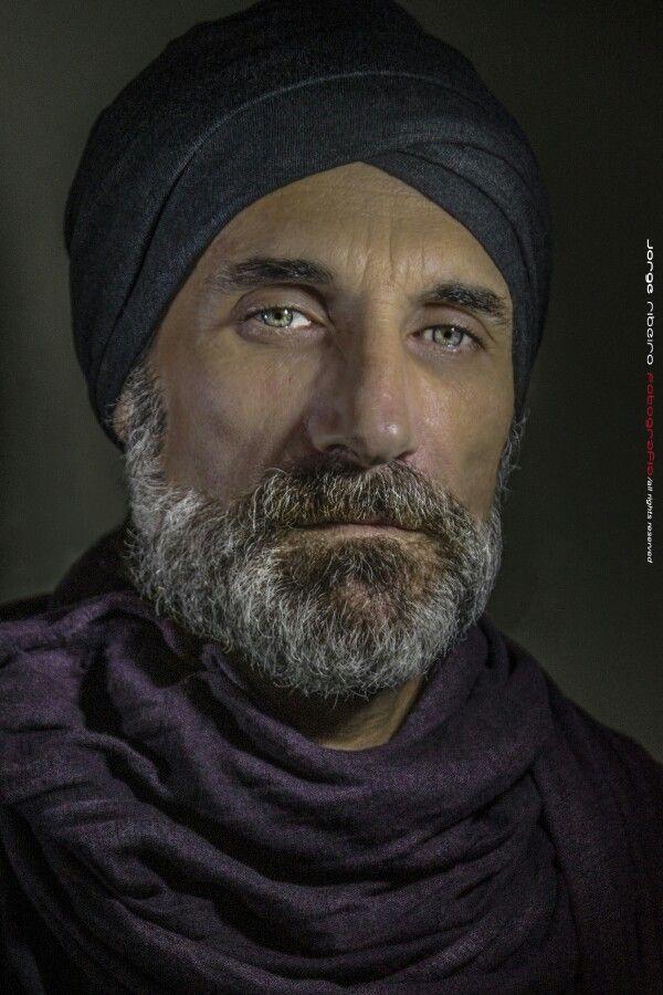 Self-portrait  -  Hindu style