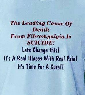 Fibromyalgia at its worst.  PLEASE, PLEASE, KNOW THIS IS NOT YOUR ONLY OPTION!!!!!