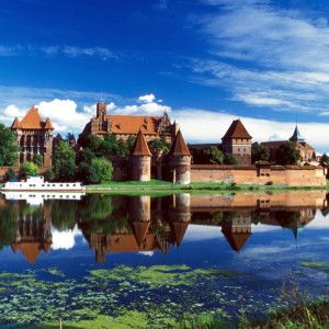 Malbork - Largest Gothic castle in the world. Unesco listed site