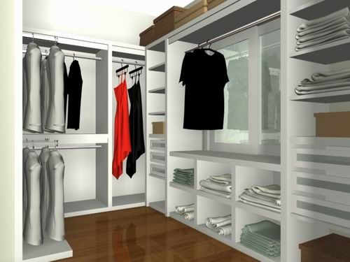 17 best images about closet organizer on pinterest for Small walk in closet solutions