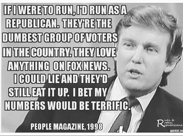 People Magazine Trump Quote 1998: Yep!! In 1998 He Actually Said This! #TeamDl