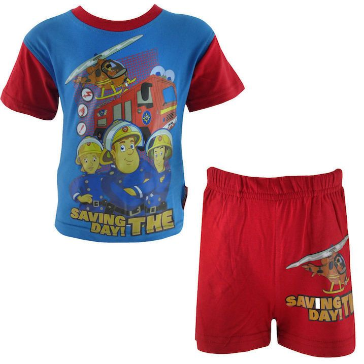 Fireman Sam Short Sleeve Pyjamas