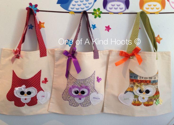 Hootie Tote Bags .... Personalised too ❤️