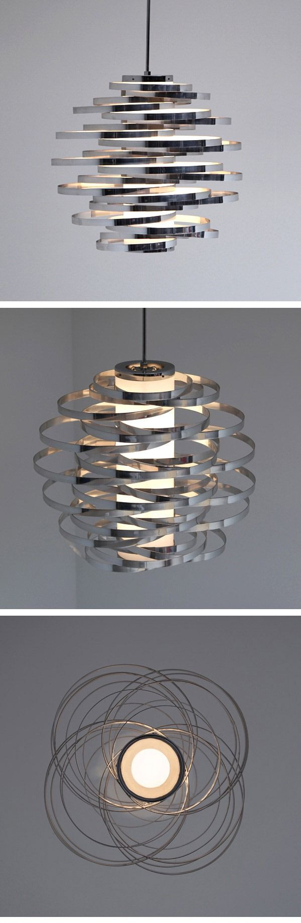 Stunning Gaetano Sciolari pendant light from the 1960s…