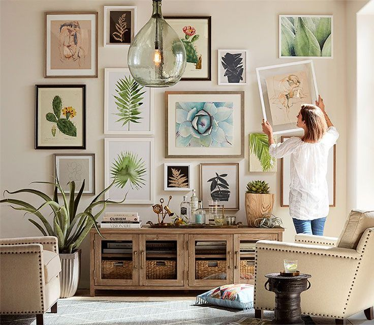 Den Decor Ideas With Vintage Posters Family Room Rustic: 17 Best Ideas About Rustic Gallery Wall On Pinterest