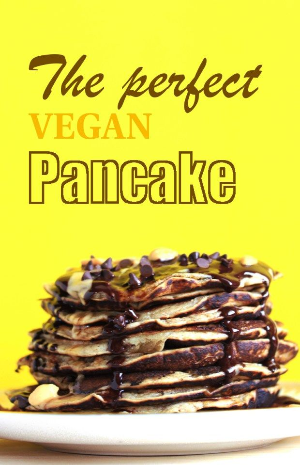 The perfect #vegan #pancakes! With #peanutbutter #sauce: just because life is short and need to be properly celebrated! :)
