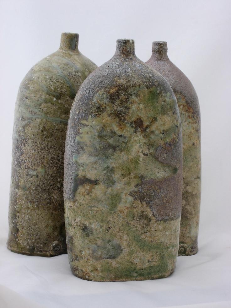 Wood/soda flat sided bottles
