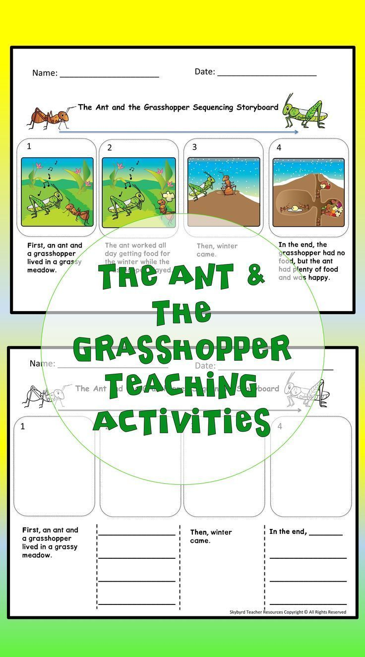The Ant And The Grasshopper Aesop S Fable Reading Comprehension Activities Use The Differenti English Writing Exercises Reading Comprehension Passages Fables [ 1324 x 736 Pixel ]