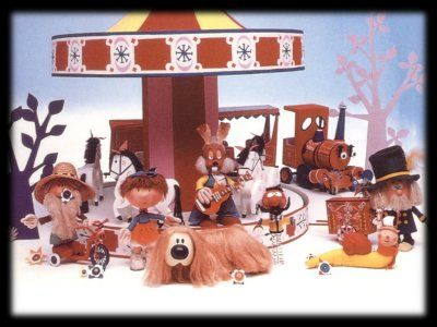 MAGIC ROUNDABOUT  No one who grew up in the 70s and 80s would NOT have this on their list. And we named our wonderful dog after one of the characters too... I can still sit and watch 6 episodes straight even now and not be bored