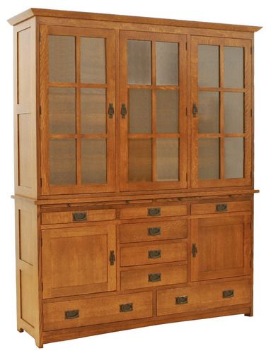 15 best Mission style hutch images on Pinterest | China cabinets ...