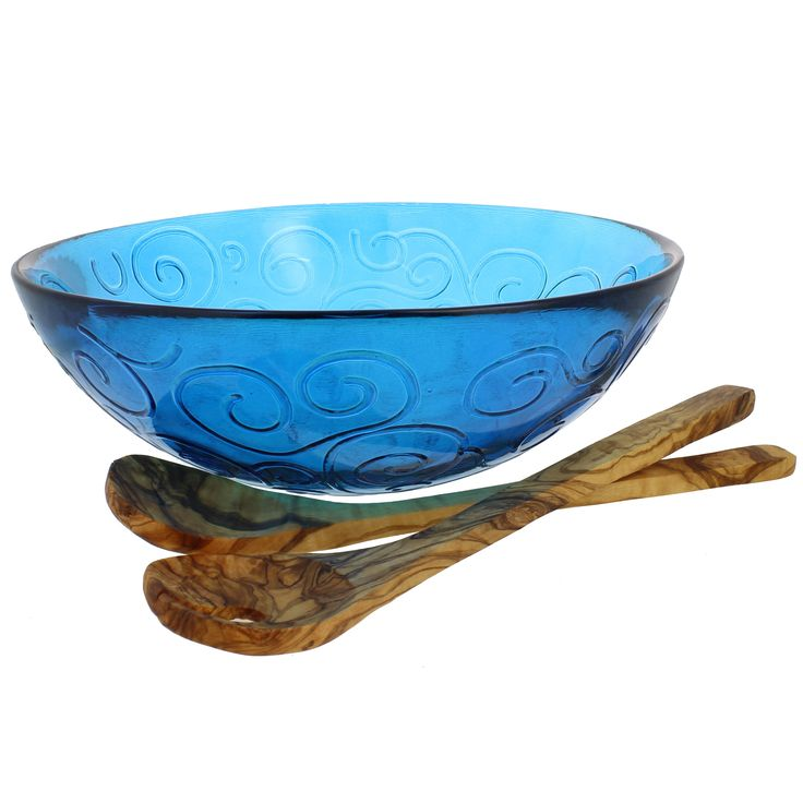 3-Piece Mediterranean Serving Bowl Set
