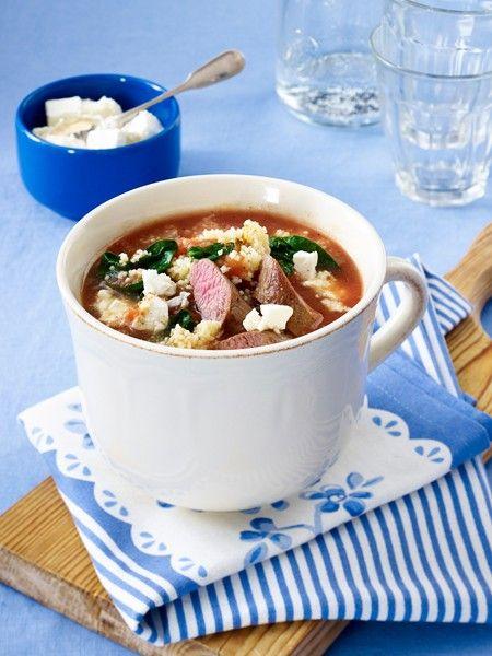 Unsere Suppenrezepte gelingen jedem. Und das in weniger als 30 Minuten. Ob Gemüsesuppe oder Gyroseintopf - 16 schnelle Suppen Rezepte.