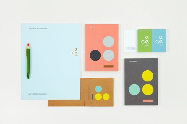 CEE identity and communication suite by Blok.