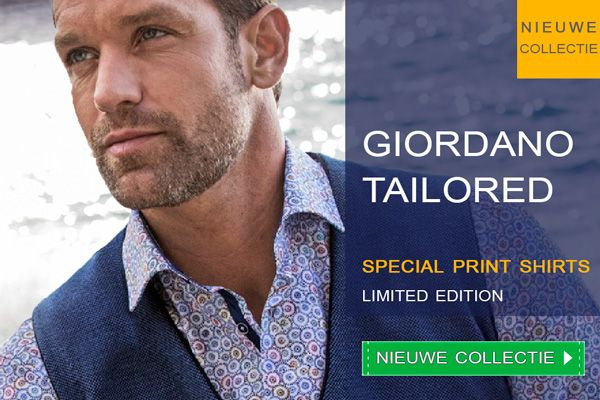 Nieuwe collectie Limited Edition Special #Print overhemden van #Giordano Tailored. Aparte prints perfect te #combineren.  https://www.shirtsupplier.nl/nl/nieuw-merk/giordano-tailored-/modern-fit
