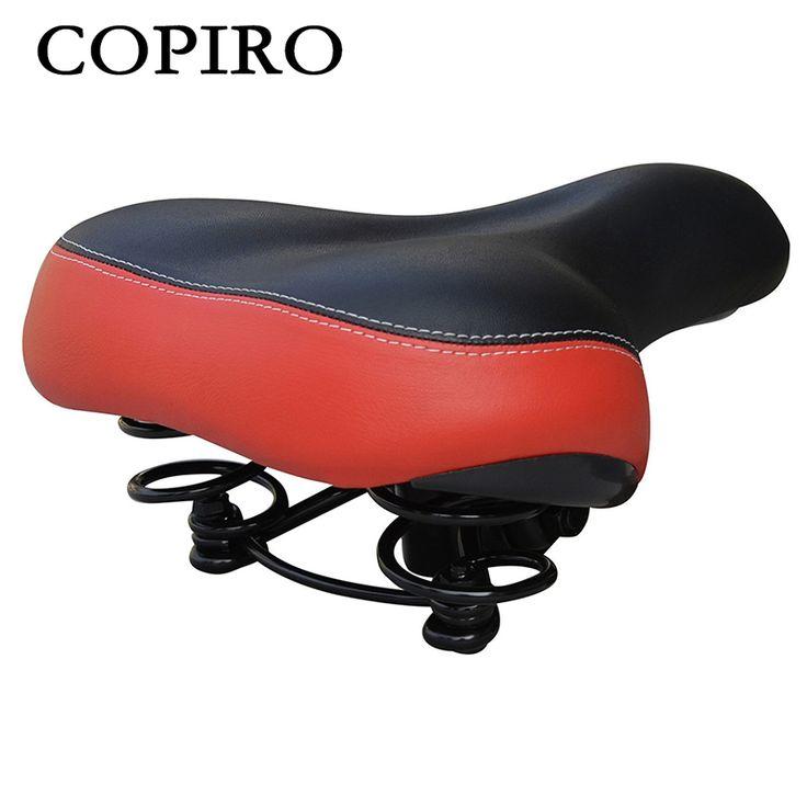 Copiro Wide Cycling Bicycle Seat Bike Saddle For Big Men Sillin MTB Cushion Sponge Soft Accesorio Bici Selle Vtt Fiets Kussens
