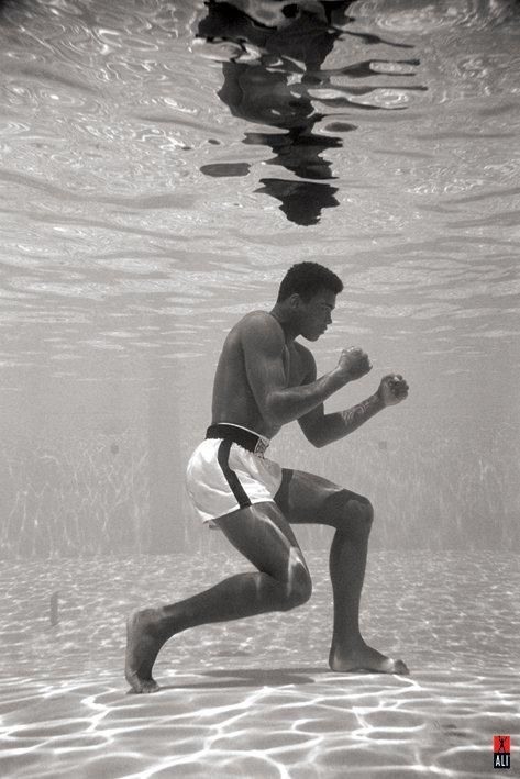 NOT SAFE.... unless of course you are this guy!! :) #ali #legendary