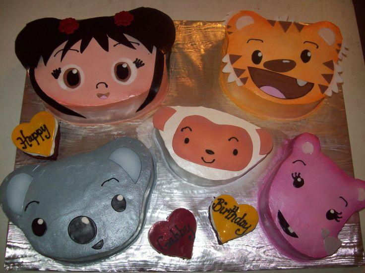 kai lan birthday cakes   Kai Lan Cake — Childrens Birthday Cakes Picture