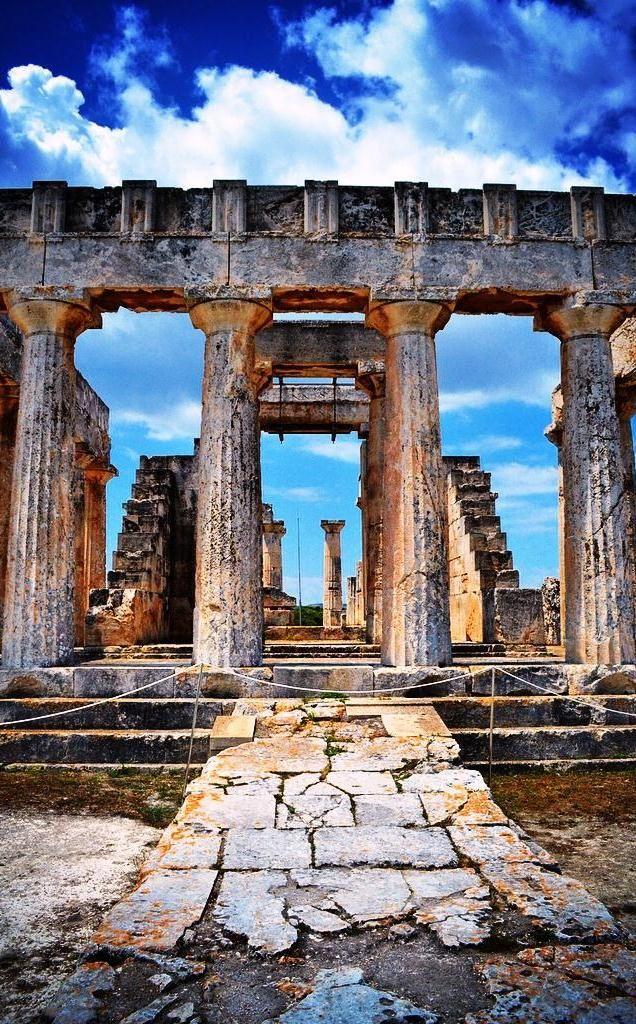 Temple of Aphaia - Aegina, Greece
