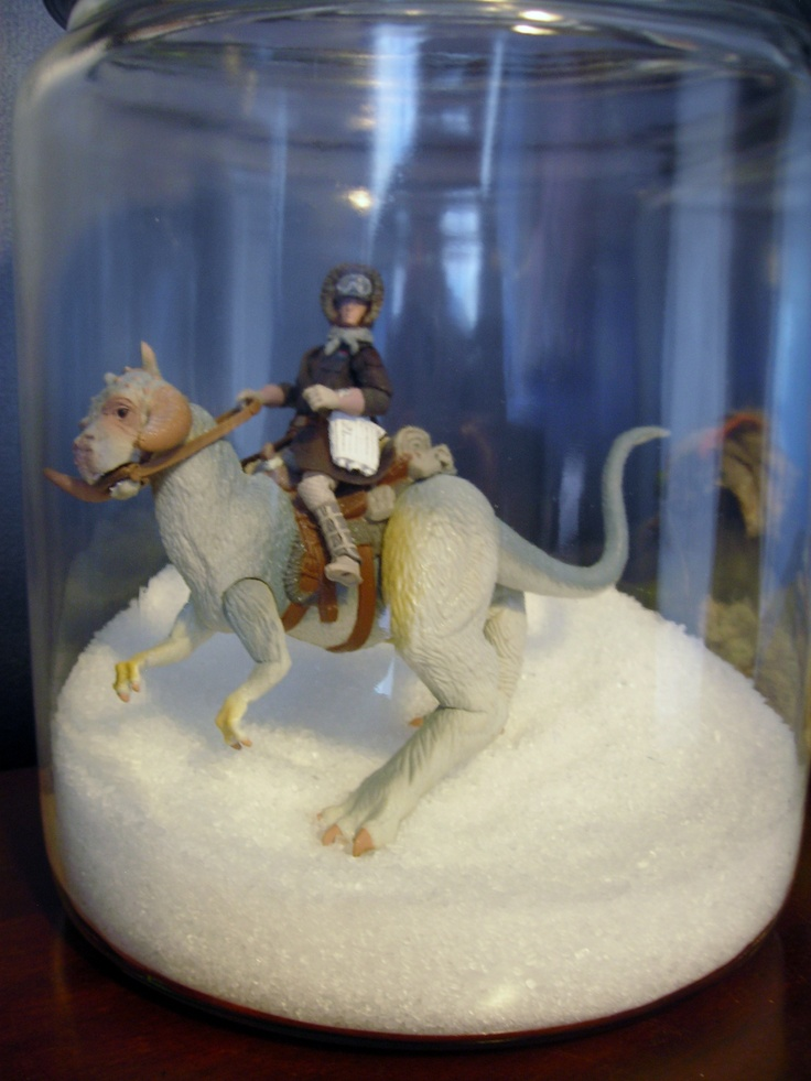 17 best images about star wars center pieces on pinterest for Star wars fish tank decorations