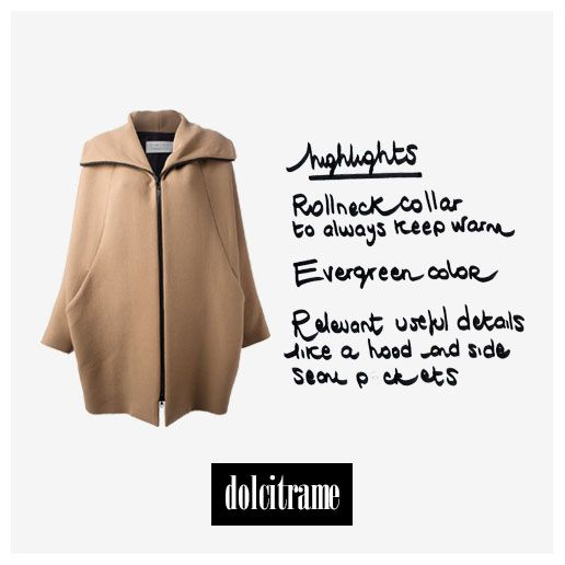 #GianlucaCapannolo #camel #coat #aw13 #newin #newcollection #fashion #editorpick #style #ootd #womenswear #womenstyle