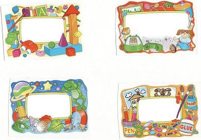 Distintivos para el primer dia de clases o cualquier for Actividades para el primer dia de clases en el jardin