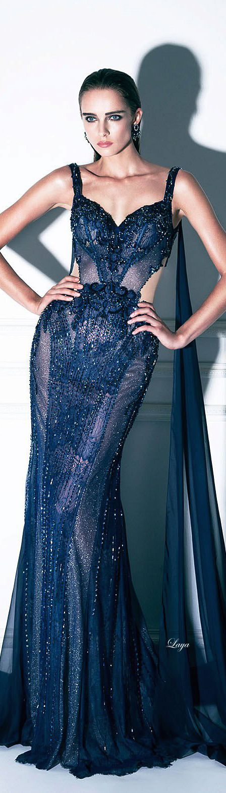 "Dany Tabet Couture ""Night in Moscow"" - F/W 2014-15     jaglady"
