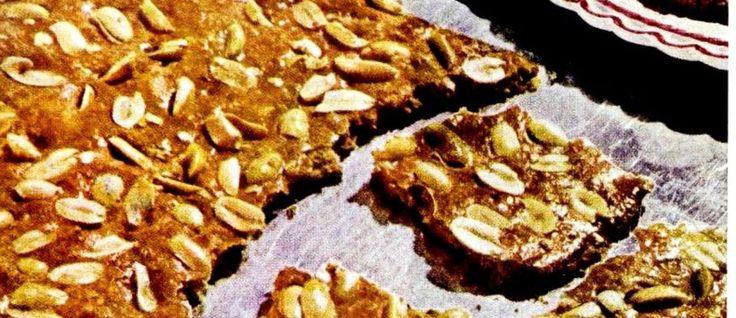 Peanut brittle cookie recipe (1953)