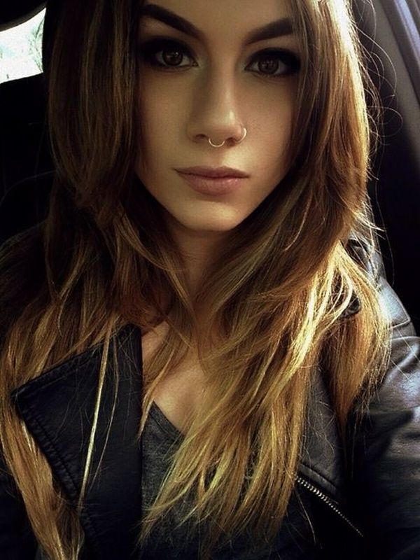100+ Septum Piercing Ideas, Experiences and Piercing Information nice  Check more at http://fabulousdesign.net/septum-piercing-ideas/